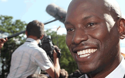 """Transformers: Dark of The Moon"" premier, Tyrese Gibson"