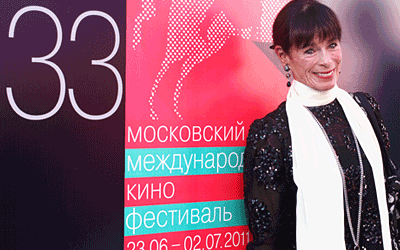 Geraldine Chaplin, main competition jury, the 33rd Moscow International Film Festiva