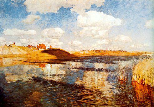 Isaak Levitan, Lake 1900